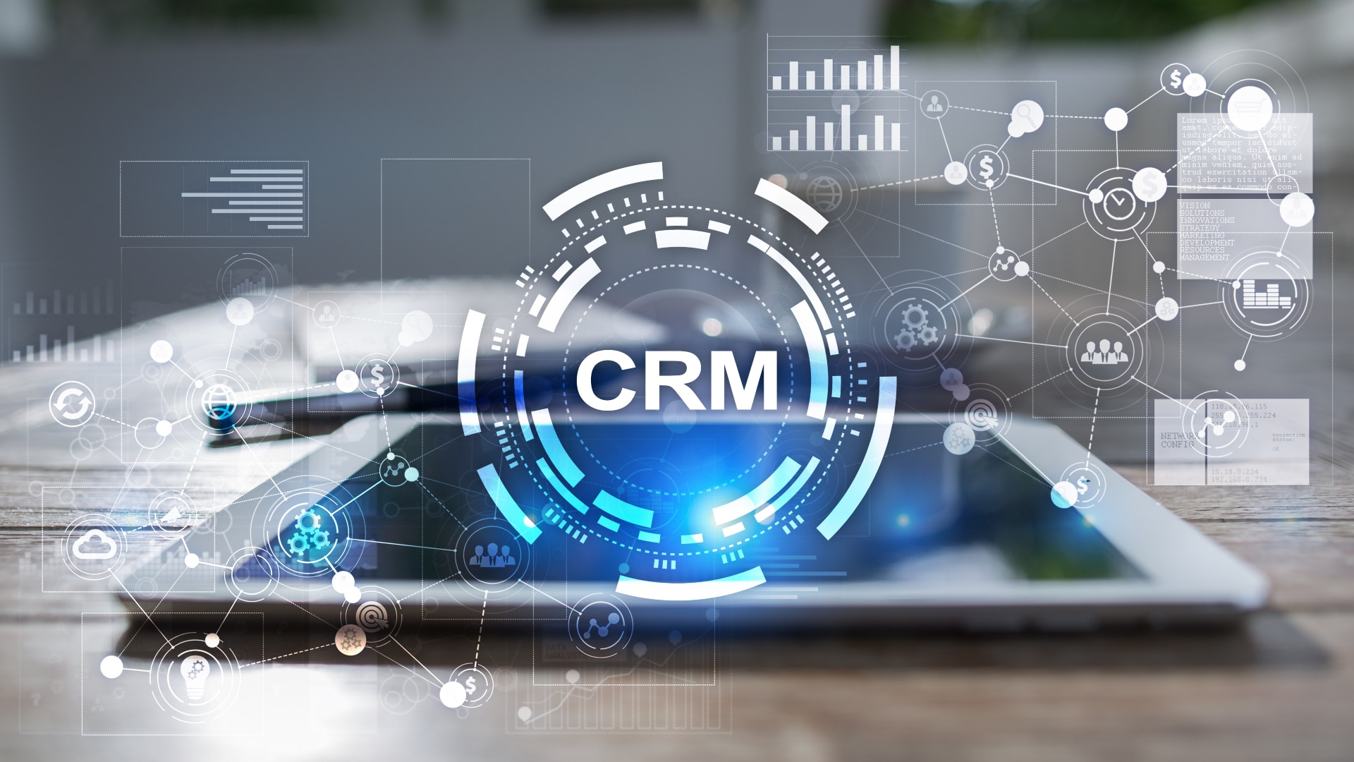 nytt CRM-system idag